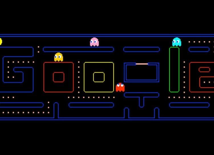 """Pac-Man Para poder disfrutar de este joya escribe la palabra Pac-Man y podrás jugar a este clásico a temporal, que aun a la fecha sigue siendo muy entretenido, la creación de Toru Iwatami revoluciono el mundo de los videojuegos en sus inicios, y su popularidad y estatus de """"culto"""" aún se mantiene."""