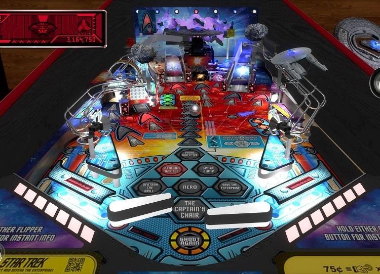 Stern Pinball Arcade Deseas jugar uno de los juegos más realistas jamás creados de Pinball, pues Stern Pinball Arcade es para ti. Stern Pinball Inc® ha creado muchas de las mejores mesas de pinball jamás hechas. Son los mejores y mayores fabricantes de máquinas de Pinball