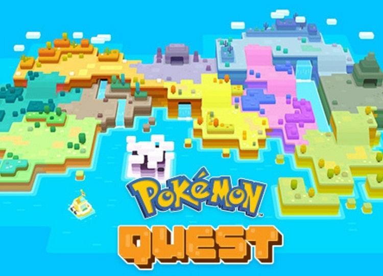 Pokémon Quest En esta versión cubica del popular RPG, estaremos en la isla RodaCubo, escenario para desarrollar  Pokémon Quest, RPG de acción creado por GAME FREAK inc., desarrolladores de multitud de populares títulos Pokémon.