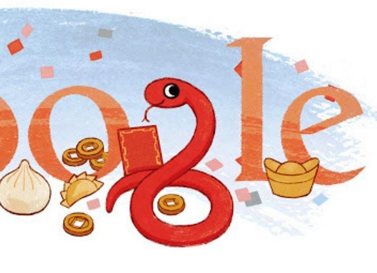 """Sanke Doodle  El mítico y muy conocido juego de la serpiente de Nokia 3310 está disponible en Google también, pero posee algunas diferencias con respecto a la versión original, para acceder a este juego debes de ingresar al Doodle del año nuevo chino, no están complicado ya solamente escribe """"Snake Google"""" y podrás jugar este clásico, existe una versión diferente, al escribir """"Snake"""" también aparecerá un minijiego pero con temática diferente."""